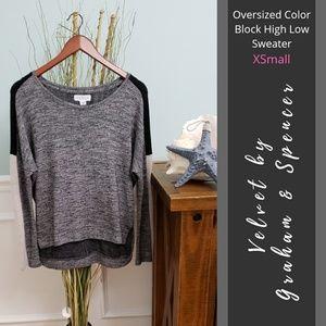💕 Velvet (Anthro)   Color Block Sweater